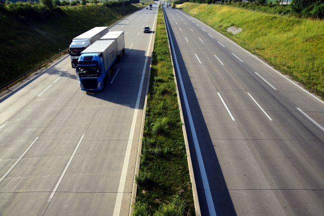 Spedycja FineLog autostrada