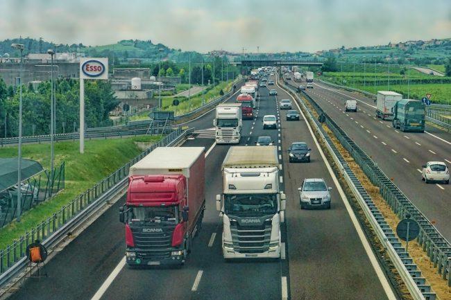 Fine Log autostrada