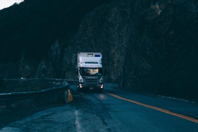 Finelog spedycja Scania